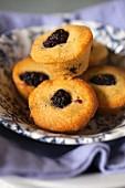 Blackberry mini muffins