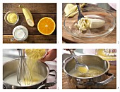 How to prepare soft polenta with orange juice