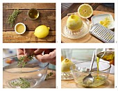 How to prepare thyme & honey marinade