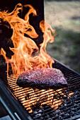 Gegrilltes Wagyu-Steak