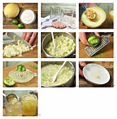 How to prepare melon jam with lime juice