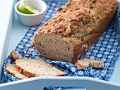 Buttermilk bread with banana and honey