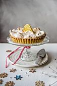Lemon meringue pie for Christmas