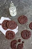 Schokoladenkekse aus Bohnen