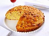 Pizza rustica (an Italian savoury cake)
