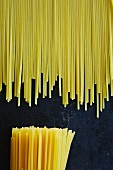 Different spaghetti ends