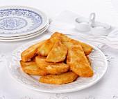 Frittini di sedano rapa (celeriac in breadcrumbs from Italy)