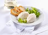 Spuma di trota (Italian fish dumplings)