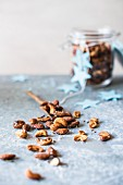 Spiced nuts for Christmas