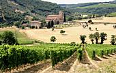 Saint Antimo Abbey,Italy