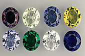 Synthetic Spinel Gemstones