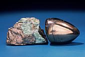'Niccolite from Cobalt,Ontario'