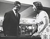 President Nyerere and Mary Leakey
