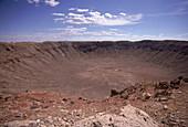 'Meteor Crater,Arizona'