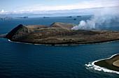 Volcanic Eruption on Surtsey