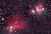 B33 The Horsenead and M42 The Orion Nebul