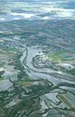 Mount Pinatubo mudflow