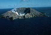 White Island volcano,New Zealand