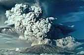 Ash Plume,Mount St. Helens