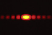 Diffraction on a slit,3 of 3
