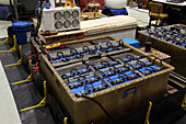 Batteries in Deep Sea Submarine