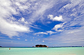 Island and Clouds,the Seychelles