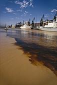 Polluted Water,Rio de la Plata Argentina