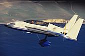 Long-EZ Kit Plane,California,USA