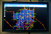 Police Department Dispatchers Map