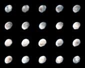 Hubble Images of Vesta