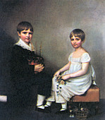 Charles and Catherine Darwin,1816
