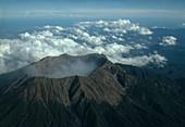 Raung volcano,Indonesia