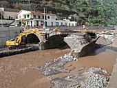 Ribeira Brava after flood,Madeira