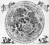 Moon Craters,1645