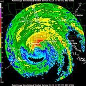 Hurricane Rita,WFO Radar,2005