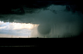 Wet Microburst Sequence,1 of 4