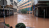 Aftermath of flood,Funchal,Madeira