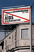 AIDS Anti-discrimination Billboard