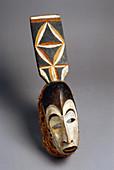Baule Mask,Ivory Coast