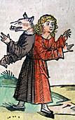 Wolf Boy,Nuremberg Chronicle,1493