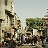 Islamic Funeral,Cairo,Egypt,1906