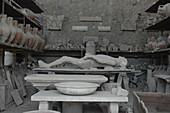 Artefacts,Pompeii,Italy