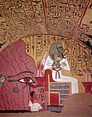 Artwork in Tomb of Pashedu