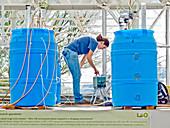 Researcher in Biosphere 2