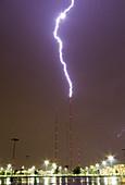 TV Tower Lightning