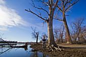 Missouri River Flood Water Lines
