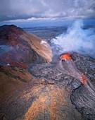 Kilauea Volcano,Hawaii