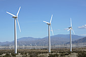 Wind Turbines,California