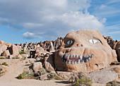 Painted boulders