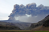 Eyjafjallajokull Ash Cloud,Iceland